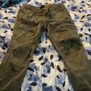WHBM pants with embroidery size 10